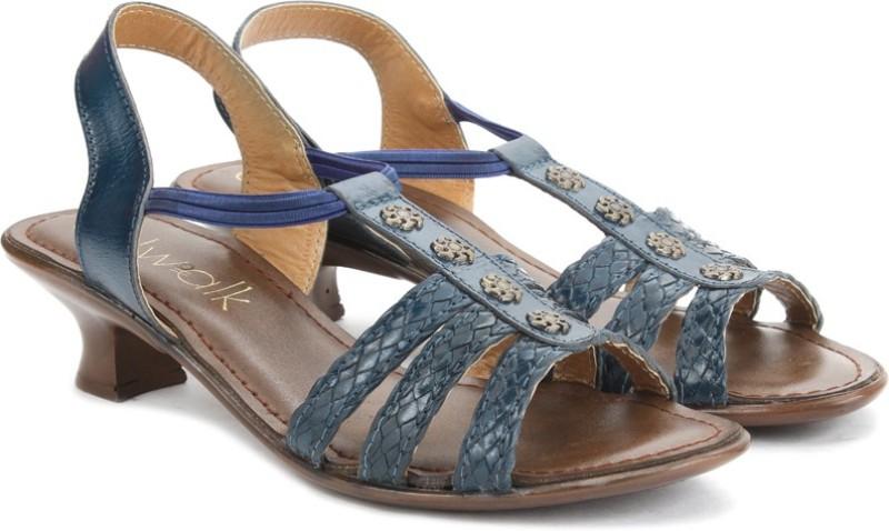 Catwalk Fashion Women Blue Heels