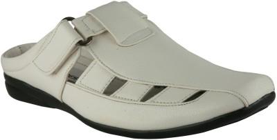 IShoes Comfort Sandal Men White Sandals