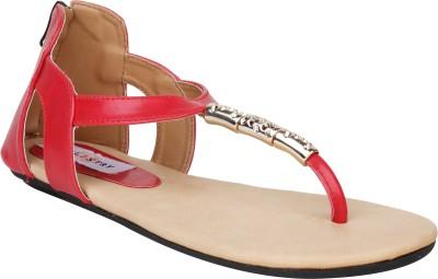 Stylistry Martha Red Women Women Red Flats