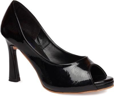 La Zilver Women Black Sandals