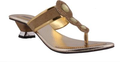 Sapyork Women Gold Heels