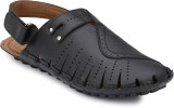 Peponi Men Black Sandals