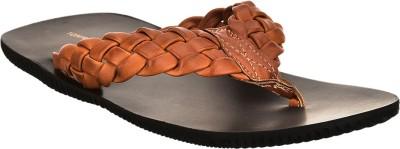 Brandvilla Men Tan Sandals