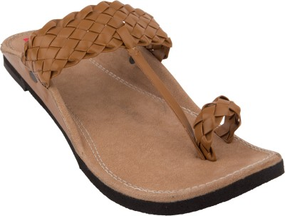 Footrendz Men Tan Sandals