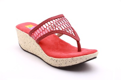 Tycoon Women Red Wedges