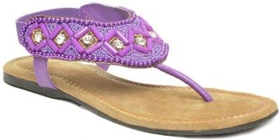Darcey Women Purple Flats