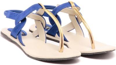 TEN Decent Blue Women Blue Flats