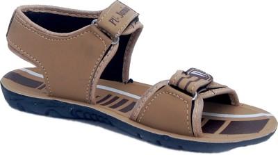 GreenBazar Baby Boys Brown Sandals