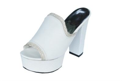 Ladela Women White Heels