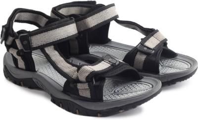 Lotto Retreat Men Black, Grey Sandals