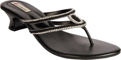 Indulgence Exquisite Women Black Heels