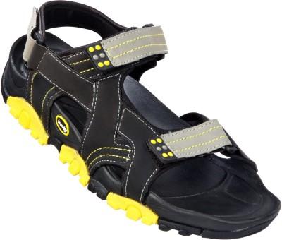 VKC Trendz Men Black Sandals