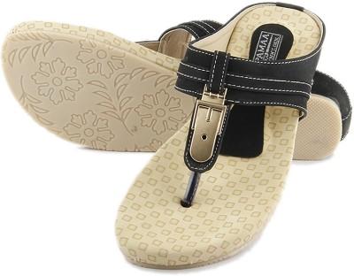 Anupamaa Girls Black Sandals