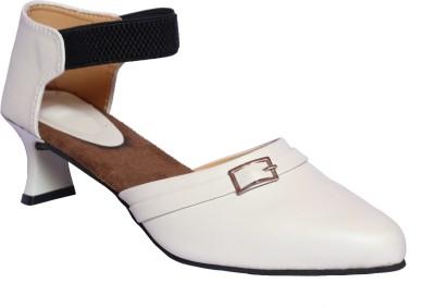 Hannah Traders Women, Girls White Heels