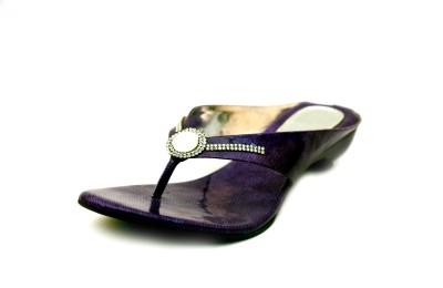 Unmatched Identity Women Purple Flats