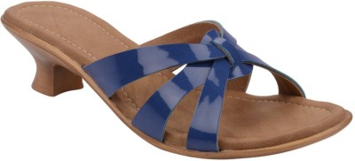 Chicopee Women Blue Heels