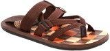Stylos Men Brown Sandals