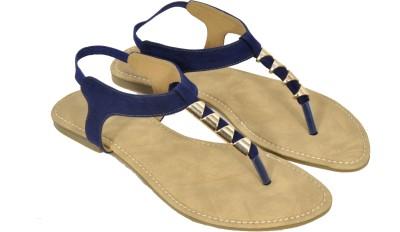Bshoes Women Blue Flats