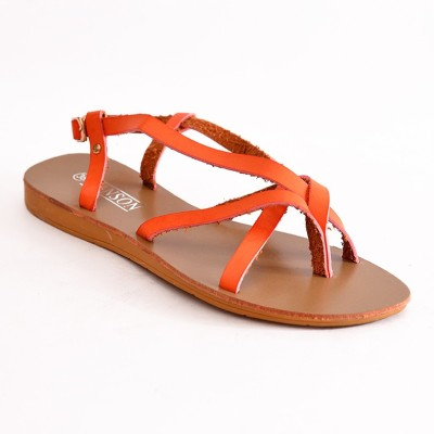 vanson Women Orange Flats