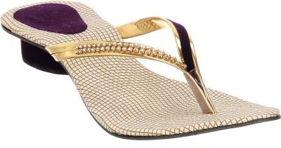 Brandvilla Women Purple Heels