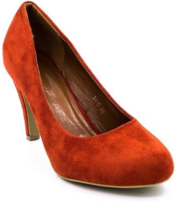 Belle Gambe Women Red Heels
