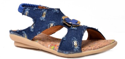 Crayon&collection Girls Blue Sandals