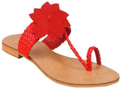 Rwak Women Red Flats