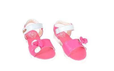 Junior Selection Girls Pink Sports Sandals
