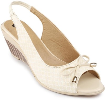 American Swan Women White Heels