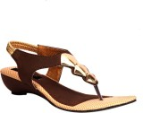 Trilokani Women Brown Wedges