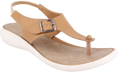 Fashion Victory Women Beige Wedges