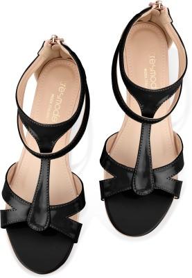 Tresmode Rerun-1 Women Black Flats