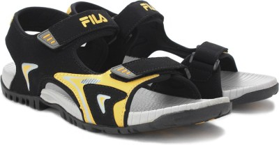 Fila Men Black Sports Sandals