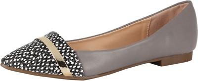Van Heusen Women Grey Flats