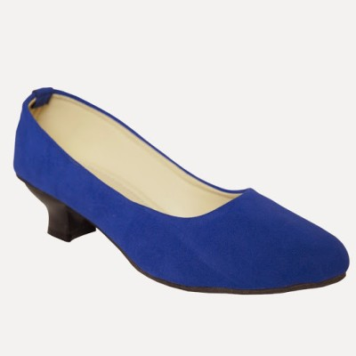 Azores Women Blue Heels