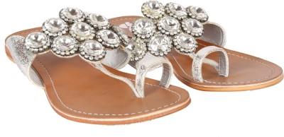 Gossip Women Silver Flats