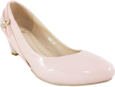 Heels & Handles Women Beige Heels