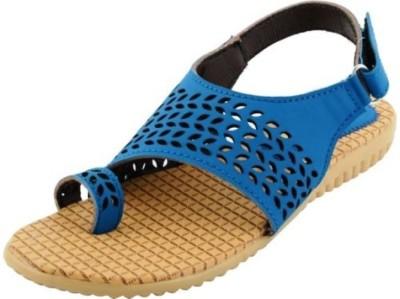 mgz Women, Girls Blue Flats