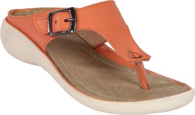 Remson India Women Orange Flats