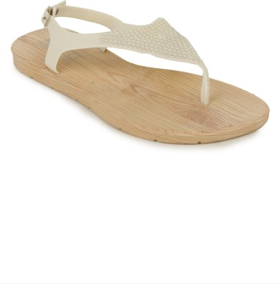 SRS Women White Flats