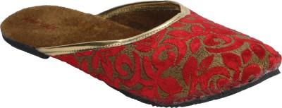 Abile Valor Women Red Flats