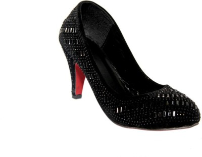 Fashion Victory Women Black Heels