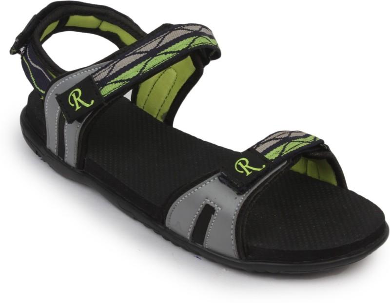 Rod Takes Girls, Women Green, Grey Sports Sandals