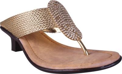Angel Women Gold Heels