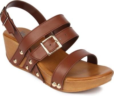 JOVE Women Multicolor Sandals