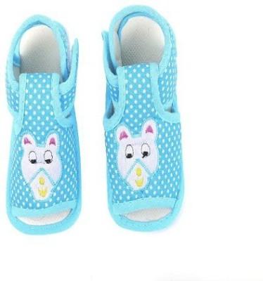 CHHOTE JANAB Baby Girls, Baby Boys Blue Flats
