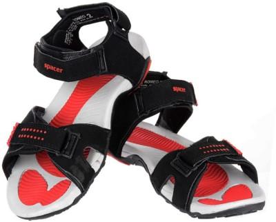 Per Te Solo Romeo-II Men Black, Red Sandals