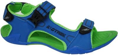 Axotrek Ultra Light Weight Men Blue, Green Sandals