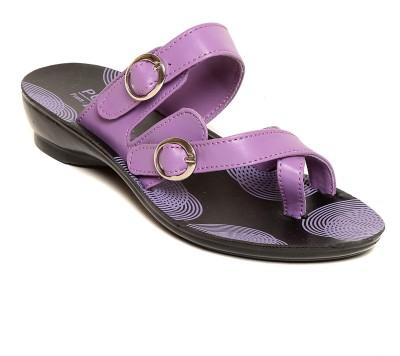 Lancer Women Purple Flats