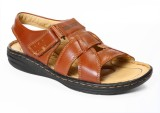 Red Chief Men Tan Sandals